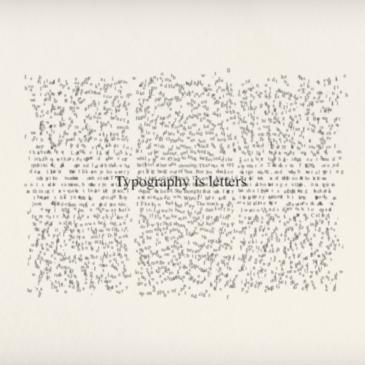 Typografie, van papier naar scherm