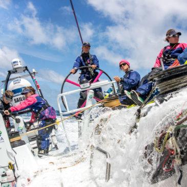 Zeilsters Team SCA winnen etappe Volvo Ocean Race